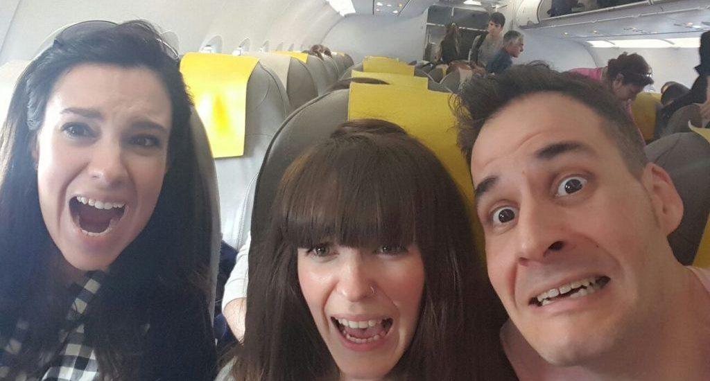 Travel bloggers con miedo a volar