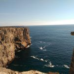 recorrer en moto los acantilados del Algarve