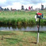 Visitar molinos en Holanda en la campiña