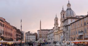 visitar plazas de roma